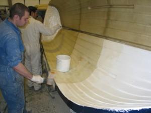 GRP Glass Fibre marine manafacture