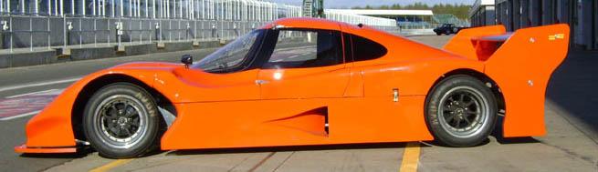 GRP Race Car Panels